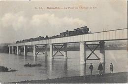 03 - Allier - MOULINS - Le Pont Du Chemin De Fer - - Moulins