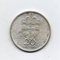 Portogallo - 1966 - 20 Escudos - Argento - (FDC24893) - Portogallo