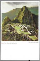 Peru. Ruinas De Machupicchu. - Pérou
