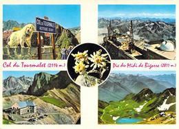 65 Col Du Tourmalet Pic D'Espade Du Midi De Bigorre Observatoire Lac D'Oncet - Non Classés