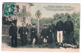 D  54 - -   Cpa -  IGNEY-AVRICOURT - DOUANIERS FRANCAIS Et ALLEMANDS   - 6444  BEA - Douane