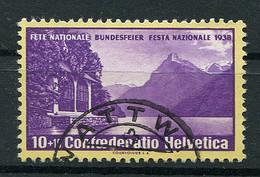 Schweiz-Switzerland-Suisse: Pro Patria Mi 3526 1938 Gestempelt / Used / Oblitéré - Used Stamps