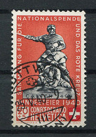 Schweiz-Switzerland-Suisse: Pro Patria Mi 366a 1940 Gestempelt / Used / Oblitéré - Used Stamps