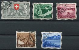 Schweiz-Switzerland-Suisse: Pro Patria Mi 580-584 1953 Gestempelt / Used / Oblitéré - Used Stamps