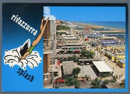 °°° Cartolina - Rivazzurra Veduta Panoramica Viaggiata °°° - Rimini