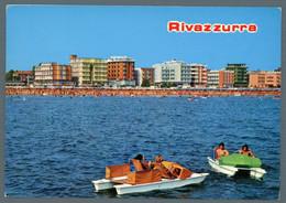 °°° Cartolina - Rivazzurra Veduta Viaggiata °°° - Rimini
