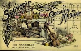 [13] Bouches-du-Rhône > Marseille > Souvenir Du Concourss De Musique / M 43 - Altri