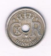 25 ORE 1924 DENEMARKEN /7449/ - Danimarca