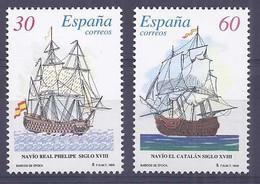 Spain 1996. Barcos De Epoca Ed 3415-16 (**) - 1931-Hoy: 2ª República - ... Juan Carlos I