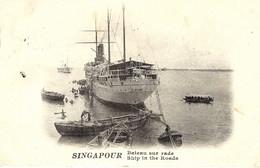 SINGAPOUR - Bateau Sur Rade - - Singapore