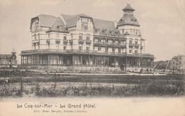 De Haan ,  Coq Sur Mer  , Le Grand Hotel ;( Edit : René Berger ,Braine L'Alleud ) - De Haan