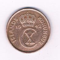5 AURAR  1942 IJSLAND /7456/ - Iceland