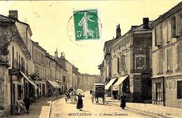 137 - MONTAUBAN -l'Avenue Gambetta  -ed. N D - Montauban