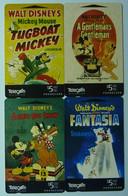 New Zealand - GPT - Disney - Mickey Mouse Story - Part 2 - Set Of 4 - Mint - Nuova Zelanda