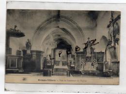 CPA - 60 - ORMOY VILLERS - Vue De L'intérieur De L'Eglise - Cliché Pas Courant - Frankreich