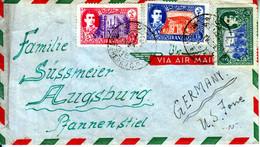 IRAN 1955? COVER To GERMANY - Iran