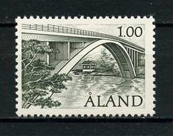 ALAND 1987 N° 24 **  Neuf MNH Superbe  0.75 € Pont De Färjsund Bridge - Aland