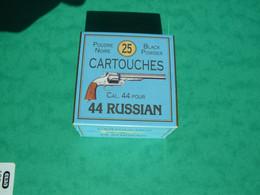 Boite De 44 Russian Poudre Noire - Decotatieve Wapens