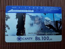 Phonecard Venuzuela BS 100 Used Rare - Venezuela