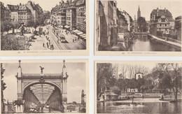 STRASBOURG  ( 67 )  LOT  DE 18   CPA  DIVERSES - Toutes Scanées - ( 20 / 9 / 269 ) - 5 - 99 Karten