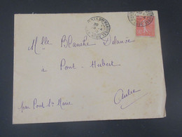 France Lettre Du 15 04 1932 De Maizières La Grande Paroisse Pour Pont Hubert - France