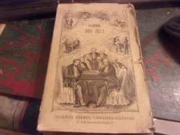 1883 Quinola ( Jean ) nouvelle Académie Des Jeux Contenant  Dictionnaire Des Jeux Anciens Le Nouveau Jeu De Croquet .. - 1801-1900