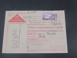 France Carte De Contre  Remboursement 1960 Pour Troyes - France