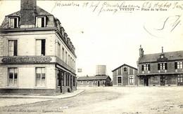 YVETOT - Place De La Gare - Ed. Bornon - Yvetot