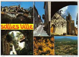 Carte Postale 83.  Sollies Ville  Très Beau Plan - Sollies Pont