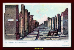 1900 C. Italy Postcard Unused POMPEI Luck's Street Ed Richter Ak Cp - Pompei