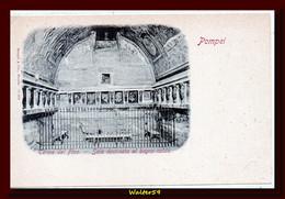 1895 C. Italy Postcard POMPEI Baths Room Of The Forum Unused Ed Stengel. - Pompei