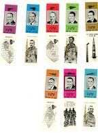 Ras Al Kaima 1967-Mort Des Astronautes- MI195/202***MNH-Avec Bords De Feuille -RARE - Espace