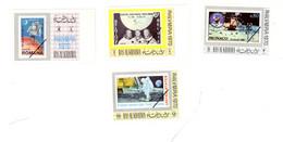 Ras Al Kaima 1970-Apollo 11-Philympia -4 Timbres Espace***MNH-NON Dentelé - Espace
