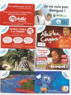 Promotion  8 Recharges Liberté  Ut Luxe      (bureaenvelop) - Nouvelle-Calédonie