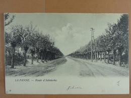 La Panne Route D'Adinkerke - De Panne