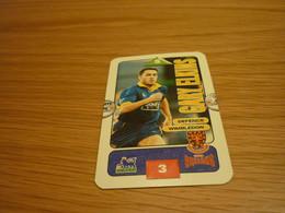 Gary Elkins Wimbledon Subbuteo Squads 1995-96 UK English Premier League Football Soccer Trading Card - Trading Cards