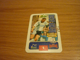 Matthew Jackson Everton Subbuteo Squads 1995-96 UK English Premier League Football Soccer Trading Card - Trading Cards