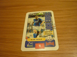 John Ebbrell Everton Subbuteo Squads 1995-96 UK English Premier League Football Soccer Trading Card - Trading Cards