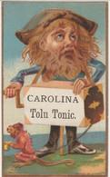 1800's Victorian American Trade Card Carolina Tolu Tonic Providence F. Todd Chromo Américaine - Andere