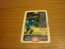 Barry Horne Everton Subbuteo Squads 1995-96 UK English Premier League Football Soccer Trading Card - Trading Cards