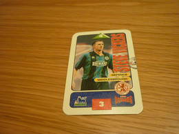 Steve Vickers Middlesbrough Subbuteo Squads 1995-96 UK English Premier League Football Soccer Trading Card - Trading Cards