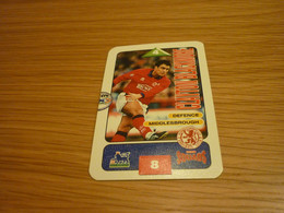 Clayton Blackmore Middlesbrough Subbuteo Squads 1995-96 UK English Premier League Football Soccer Trading Card - Trading Cards