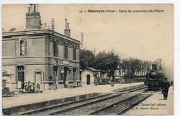 60   BOUBIERS         Gare De LIANCOURT- St PIERRE - Andere Gemeenten