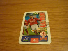 Alan Moore Middlesbrough Subbuteo Squads 1995-96 UK English Premier League Football Soccer Trading Card - Trading Cards
