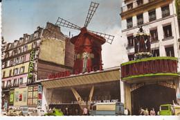 CPSM PARIS PLACE BLANCHE LE MOULIN ROUGE - Bar, Alberghi, Ristoranti