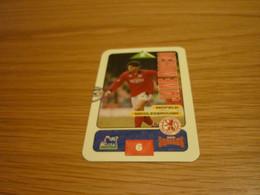 Jaime Moreno Middlesbrough Subbuteo Squads 1995-96 UK English Premier League Football Soccer Trading Card - Trading Cards