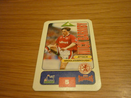 Nick Barmby Middlesbrough Subbuteo Squads 1995-96 UK English Premier League Football Soccer Trading Card - Trading Cards
