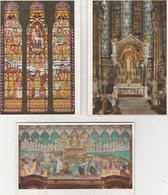 BASILIQUE  DE  FOURVIÈRE  A  LYON  - Pochette De  11 Cpm  Vitraux & Mosaiques ( 20 / 9 /280 ) - 5 - 99 Karten