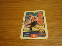 Simon Charlton Southampton Subbuteo Squads 1995-96 UK English Premier League Football Soccer Trading Card - Trading Cards