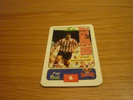 Neil Shipperley Southampton Subbuteo Squads 1995-96 UK English Premier League Football Soccer Trading Card - Trading Cards